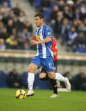 Osvaldo of Espanyol Royalty Free Stock Image