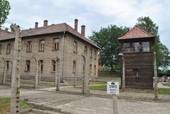 Osvietim Auschwitz concentration camp Royalty Free Stock Photography
