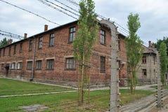 Osvietim Auschwitz koncentracyjny obóz zdjęcia stock