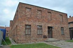 Osvietim Auschwitz koncentracyjny obóz zdjęcia royalty free