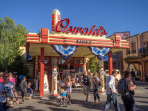 Oswald's Tires gift shop at Disney California Adventure Park Royalty Free Stock Photography