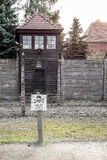 OSWIECIM, POLAND/EUROPE - SEPTEMBER 18 : Auschwitz concentration Royalty Free Stock Images