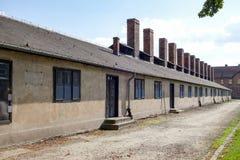 OSWIECIM, POLAND/EUROPE - 18 SEPTEMBRE : Concentration d'Auschwitz photos stock