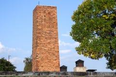 OSWIECIM, POLAND/EUROPE - 18 SEPTEMBRE : Concentration d'Auschwitz photo libre de droits
