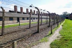 OSWIECIM, POLAND/EUROPE - WRZESIEŃ 18: Auschwitz koncentracja obraz stock