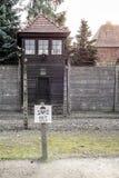OSWIECIM, POLAND/EUROPE - WRZESIEŃ 18: Auschwitz koncentracja obrazy royalty free