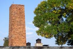 OSWIECIM, POLAND/EUROPE - WRZESIEŃ 18: Auschwitz koncentracja zdjęcia stock