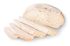Osyrat bröd som skivas med dillfrö Royaltyfria Bilder