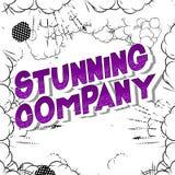 Oszałamiająco Firmy - komiksu stylu słowa ilustracji