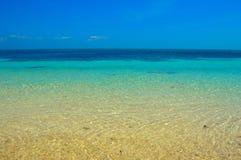 Oszałamiająco denni widoki piękna Malapascua wyspa, Filipiny obraz royalty free