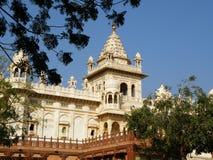 Oszałamiająco Jainism świątynia w Rajasthan, India obrazy royalty free