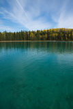 Oszałamiająco klarowność przy Boya prowincjonału Jeziornym parkiem i, BC obraz royalty free