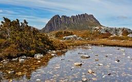 Oszałamiająco Kołysankowa góra, Tasmania, Australia Zdjęcia Royalty Free
