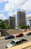 Oszałamiająco widok Agencyjni budynki 1-4, przed Albany stanu placem '15 Zdjęcie Royalty Free