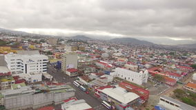 Oszałamiająco widok San Jose w dniu w Costa Rica zbiory wideo