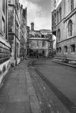 Oszałamiająco wizerunek Cambridge uniwersyteta i miasta lokacje w bla Fotografia Stock