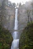 Oszałamiający Multnomah spadki Zdjęcia Royalty Free