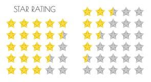 Oszacowywa gwiazdy Fotografia Royalty Free