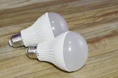 oszczędność energii światła żarówki Zdjęcia Royalty Free