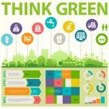 Oszczędnościowy infographics Obraz Stock
