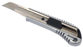 Oszczędnościowy nóż (z ścinek ścieżkami) Fotografia Royalty Free