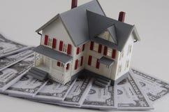 Oszczędzania budować/zakup dom, save dla domu/ Fotografia Royalty Free