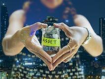 Oszczędzania i inwestyci pojęcia wizerunek Fotografia Stock