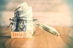 Oszczędzania pojęcie zdjęcia royalty free