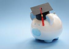 Oszczędzanie dla edukaci obraz stock