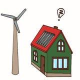 oszczędzanie energetyczna ilustracyjna ładna miękka część Fotografia Royalty Free