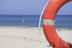 Oszczędzona plaża Obraz Royalty Free