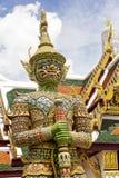 Oszklona dachówkowa gigantyczna statua Zdjęcia Royalty Free