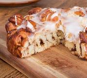 Oszklonego Streusel Kawowy tort Zdjęcie Stock