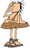 Oszołamiający caveman ilustracja wektor