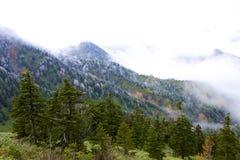 Oszraniającego krajobraz wysoka równina Obrazy Royalty Free