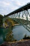 oszukiwanie bridge pass Zdjęcie Stock