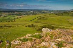 oszusci osiągają szczyt Somerset widok Fotografia Stock