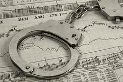 oszustwa inwestycji Fotografia Stock