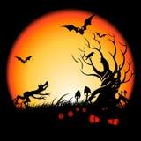 otäcka halloween vektor illustrationer