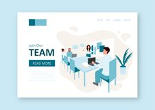 Teamwork concept. vector illustration