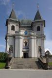 Ot de la basílica la asunción de la Virgen Maria Imagen de archivo libre de regalías