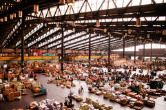 Ota Wholesale Market, Biggest fruit, vegetable and flower market. June 24, 2014, Ota-Ku, Tokyo, Japan : Ota Wholesale Market, Biggest fruit, vegetable and flower stock photos