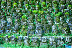 Otagi Nenbutsu Buddhist temple, Kyoto, Japan Stock Photos