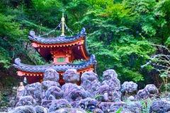 Otagi Nenbutsu Buddhist temple, Kyoto, Japan Stock Photos