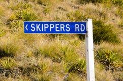 Otago -新西兰 库存照片