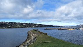 Otago Harbour, Port Chambers stock images
