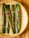 Otah piccante asiatico del otah della crocchetta di pesci Immagine Stock