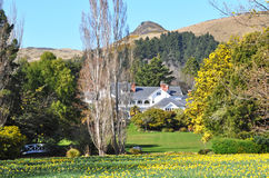 Otahuna Lodge in Spring, Canterbury, New Zealand Stock Images
