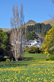 Otahuna Lodge in Spring, Canterbury, New Zealand Stock Photography