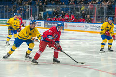 Otakar Janecky (91) and Peter Andersson (4) Stock Photos